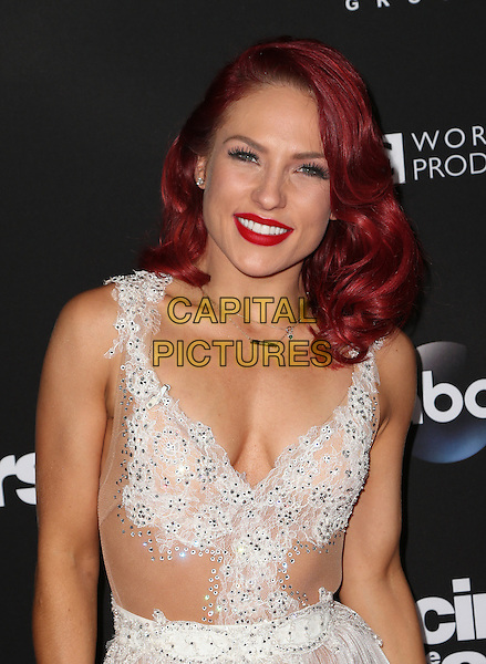 Los Angeles, CA - NOVEMBER 22: Sharna Burgess, At ABC's &quot;Dancing With The Stars&quot; Season 23 Finale At The Grove, California on November 22, 2016. <br /> CAP/MPI/FS<br /> &copy;FS/MPI/Capital Pictures