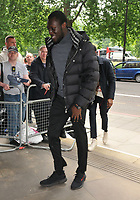 Stormzy (Michael Ebenazer Kwadjo Omari Owuo Jr.) at the Ivor Novello Awards 2018, Grosvenor House Hotel, Park Lane, London, England, UK, on Thursday 31 May 2018.<br /> CAP/CAN<br /> &copy;CAN/Capital Pictures
