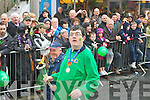 Olympian Michael O'Leary marching in the Killarney St Patricks day parade on Saturday