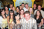 30TH BIRTHDAY: Mary Ann Horgan (front) with her husband Shane from Ardfert got together in Sea?n Og's bar, Russell St., Tralee, with many friends on Friday night to celebrate her 30th birthday.   Copyright Kerry's Eye 2008