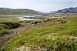 Kerlingarskard Mountain Pass near Stykkisholmur in Iceland