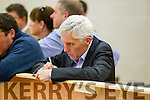 Michael Fitzgerald at the Kerry General Election Count in Killarney.