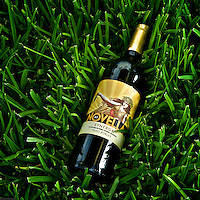 Novella Wine in green grass