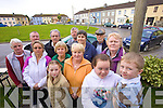 FEAR: Locals from Strand Rd., Strand St., Cahill's Park and Caherina Cross are fearful for the future of their homes. Front l-r: Margaret Moriarty, Joan Byrne, Rosarie O'Connor, Tracy O'Keeffe, Loretto Moriarty, Fiona O'Connor, Breda Murphy, Ciara O'Connor and Luke Allen. Back l-r: Brendan Moriarty, Vincent Murphy, David Moriarty and Sean Hickey.