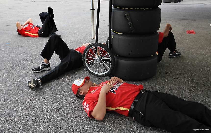 NASCAR Sylvania 300 auto race at the New Hampshire Motor Speedway in Loudon, N.H., Friday, Sept. 23, 2011.  (AP Photo/Cheryl Senter) .