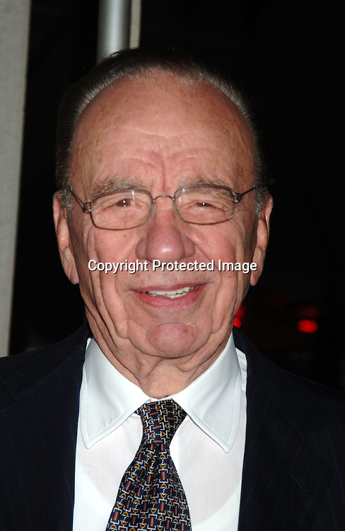 Rupert Murdoch..at The Fox News Channel's 10th Anniversary Party hosted ..by Roger Ailes and Rupert Murdoch on October 4, 2006..at 48th and 6th Avenue in New York City. ..Robin Platzer, Twin Images