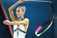 August 29, 2013 - Kiev, Ukraine - THEMIDA CHRISTODOULIDOU of Cyprus performs at 2013 World Championships.