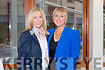 """Joanne O'Connor and Lorraine Leahy at the """"Fashion Fusion"""" in aid of Duggan Family House fire Appeal in the Fels Point Hotel on Saturday"""