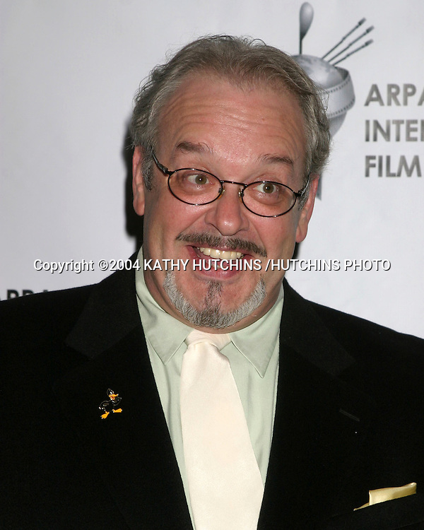 "©2004 KATHY HUTCHINS /HUTCHINS PHOTO.2004 ARPA INTERNATIONAL FILM FESTIVAL GALA AND AWARDS BANQUET.LOS ANGELES, CA.OCTOBER 10, 2004..JOE ALASKEY.VOICE OF WARNER BROS ""LOONEY TUNES"""