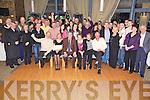 Nifty Sixty - Michael Lenihan from St. Brendan's Park, Tralee, seated centre having a wonderful time with friends and family at his 60th birthday party held in The Ballyroe Heights Hotel on Saturday night...