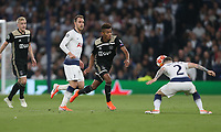 David Neres of Ajax and Tottenham Hotspur's Kieran Trippier<br /> <br /> Photographer Rob Newell/CameraSport<br /> <br /> UEFA Champions League - Tottenham Hotspur v Ajax - Tuesday 30th April 2019 - White Hart Lane - London<br />  <br /> World Copyright © 2018 CameraSport. All rights reserved. 43 Linden Ave. Countesthorpe. Leicester. England. LE8 5PG - Tel: +44 (0) 116 277 4147 - admin@camerasport.com - www.camerasport.com
