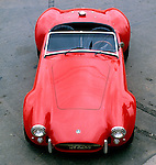 Automobilismo com carros antigos, Interlagos, SP. Foto de Juca Martins.