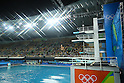 General view, <br /> AUGUST 15, 2016 - Diving : <br /> Men's 3m Springboard Preliminary Round <br /> at Maria Lenk Aquatic Centre <br /> during the Rio 2016 Olympic Games in Rio de Janeiro, Brazil. <br /> (Photo by Yohei Osada/AFLO SPORT)