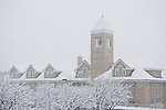 0801-51 032.CR2..0801-51 GCS SNOW..BYU CAMPUS AFTER SNOW STORM..20080109..Photo by Kenny Crookston/BYU..© BYU PHOTO 2008.All Rights Reserved.photo@byu.edu  (801)422-7322