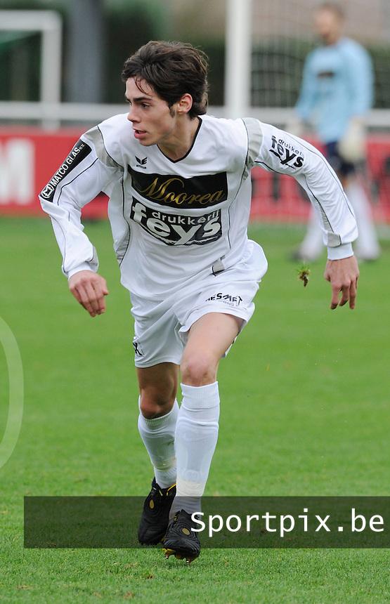 SC Wielsbeke : Michael Dominguez..foto VDB / BART VANDENBROUCKE