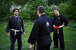 Germany, Berlin, 2018/04/30<br /> <br /> Ran Levari from Israel practices Jiu Jitsu on 30/04/2018 at Carl-von-Ossietzky Park. (Photo by Gregor Zielke)