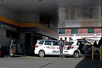 Itaquaquecetuba (SP), 01/08/2019 - Explosão Posto de Gasolina - Vista do posto de combustível onde dois homens morreram ontem, após uma explosão na cidade de Itaquaquecetuba nesta quinta-feira, 01. (Foto: Fernando Nascimento/Brazil Photo Press)