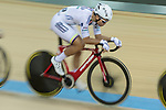 Leung Ka Yu of the X SPEED competes in the Men Elite - Scratch 10km Final category during the Hong Kong Track Cycling National Championships 2017 at the Hong Kong Velodrome on 18 March 2017 in Hong Kong, China. Photo by Chris Wong / Power Sport Images