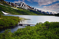 Summit Lake, Kenai Peninsula, Chugach National Forest, Alaska.