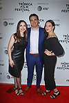Left to right - Guest, Matt Ratner, Gabrielle Nadig arrive at the world premiere of Standing Up, Falling Down at the 2019 Tribeca Film Festival presented by AT&T Thursday, April 25, 2019 at SVA Theater - 333 West 23 Street New York, NY.