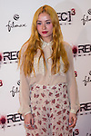 """Madrid premiere of the movie """"Rec 3. Genesis. The Wedding of the year."""" With the presence of the director Paco Plaza, and the actors Leticia Dolera and Diego Martin. In the image Miranda Makaroff  (Alterphotos/ Marta Gonzalez)"""