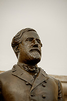 This statue of General Robert E. Lee was given to the National Statuary Hall Collection by the Commonwealth of Virginia in 1909 and stands in the Crypt in the United States Capitol in Washington, DC., Friday, July 31, 2020.  Lee attended the US Military Academy (West Point) and served in the Mexican War.  Later he served as commander of the army of the Confederate States of America (CSA) during the US Civil War.  He lived from January 19, 1807 to October 12, 1870. <br /> Credit: Rod Lamkey / CNP /MediaPunch