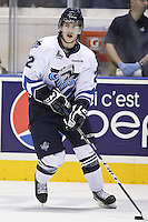 QMJHL (LHJMQ) hockey profile photo on Rimouski Oceanic Francis Beauvillier October 6, 2012 at the Colisee Pepsi in Quebec city.