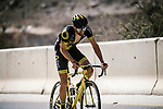 Fabien Grellier (FRA) Direct Energie from the breakaway during Stage 5 of the 10th Tour of Oman 2019, running 152km from Samayil to Jabal Al Akhdhar (Green Mountain), Oman. 20th February 2019.<br /> Picture: ASO/P. Ballet | Cyclefile<br /> All photos usage must carry mandatory copyright credit (&copy; Cyclefile | ASO/P. Ballet)