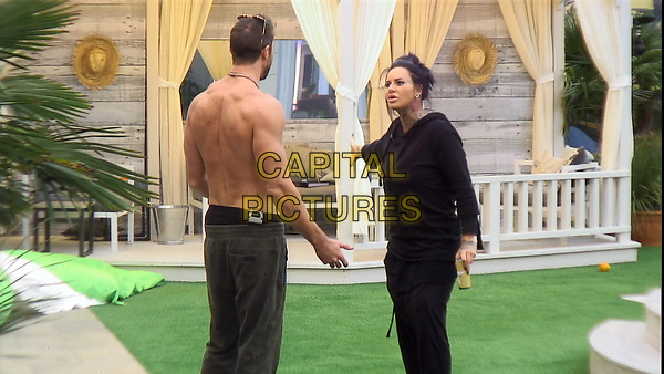 Celebrity Big Brother 2017<br /> Chad Johnson and Jemma Lucy.<br /> *Editorial Use Only*<br /> CAP/KFS<br /> Image supplied by Capital Pictures