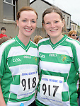 Suzanne Murphy and Elizabeth Dunne who ran in the Clogherhead 10k. Photo: Colin Bell/pressphotos.ie