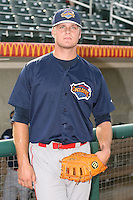 July 31st, 2007:  Lucas Duda of the Brooklyn Cyclones, Short-Season Class-A affiliate of the New York Mets a Edward LeLacheur Park in Lowell, MA.  Photo by:  Mike Janes/Four Seam Images