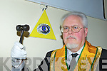 Edward Schmidt-Zorner from The Grand Masonic Orient of Ireland who met in the Brehon Hotel Killarney on Saturday