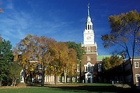 AJ0031, New Hampshire, Dartmouth college, Hanover, Ivy League, The campus at Dartmouth College