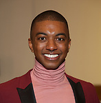 "Christian Dante White attend the ""My Fair Lady"" Re-Opening Celebration at the Vivian Beaumont Theatre on January 27, 2019 in New York City."