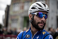 Fernando Gaviria (COL/Quick Step Floors) pre race<br /> <br /> 78th Euro Metropole Tour 2018<br /> La Louvi&egrave;re &ndash; Tournai (BEL): 206km