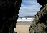 Guincho Beach in Cascais,Portugal
