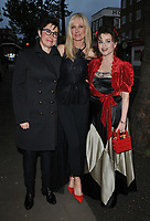 Sue Perkins, Joely Richardson and Helena Bonham Carter at the Save The Children Centenary Gala, The Roundhouse, Chalk Farm Road, London, England, UK, on Thursday 09th May 2019.<br /> CAP/CAN<br /> &copy;CAN/Capital Pictures