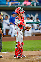 Cassidy Brown (39) of the Billings Mustangs during the game against the Ogden Raptors in Pioneer League action at Lindquist Field on August 12, 2016 in Ogden, Utah. Billings defeated Ogden 7-6. (Stephen Smith/Four Seam Images)
