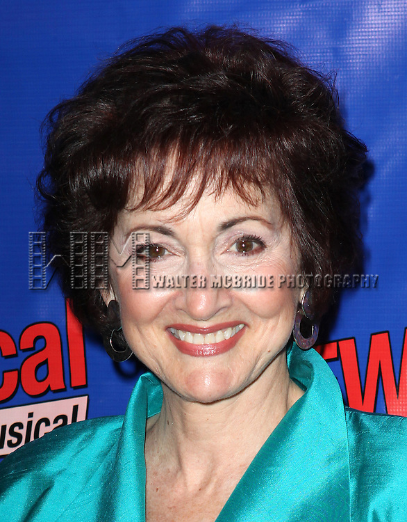 Robin Strasser  attending the Opening Night Performance of Perez Hilton in 'NEWSical The Musical' at the Kirk Theatre  in New York City on September 17, 2012.