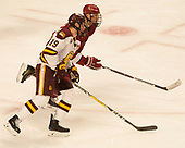 Dominic Toninato (UMD - 19), Tyler Moy (Harvard - 2) - The University of Minnesota Duluth Bulldogs defeated the Harvard University Crimson 2-1 in their Frozen Four semi-final on April 6, 2017, at the United Center in Chicago, Illinois.