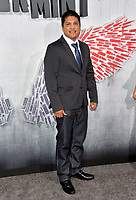 "LOS ANGELES, CA. August 28, 2018: Johnny Ortiz at the world premiere of ""Peppermint"" at the Regal LA Live."