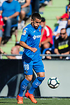 Mauro Wilney Arambarri Rosa of Getafe CF in action during the La Liga 2017-18 match between Getafe CF and Real Madrid at Coliseum Alfonso Perez on 14 October 2017 in Getafe, Spain. Photo by Diego Gonzalez / Power Sport Images