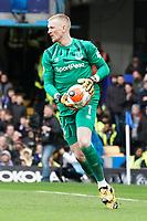 Everton's Jordan Pickford<br /> <br /> Photographer Stephanie Meek/CameraSport<br /> <br /> The Premier League - Chelsea v Everton - Sunday 8th March 2020 - Stamford Bridge - London<br /> <br /> World Copyright © 2020 CameraSport. All rights reserved. 43 Linden Ave. Countesthorpe. Leicester. England. LE8 5PG - Tel: +44 (0) 116 277 4147 - admin@camerasport.com - www.camerasport.com