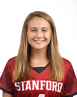 STANFORD, CA - August 16, 2019: Megan Frost on Field Hockey Photo Day.
