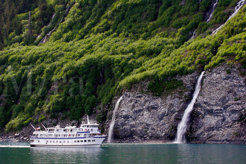 Spirit of Columbia, Passage Canal, Prince William Sound, Chugach National Forest, Alaska.