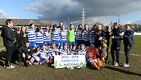 2014.02.22 AA Gent Ladies Beloften kampioen 3e nationale A