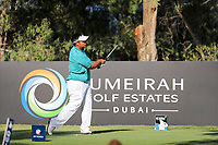Kiradech Aphibarnrat (THA) on the 16th during the final round of the DP World Tour Championship, Jumeirah Golf Estates, Dubai, United Arab Emirates. 19/11/2017<br /> Picture: Golffile | Fran Caffrey<br /> <br /> <br /> All photo usage must carry mandatory copyright credit (© Golffile | Fran Caffrey)