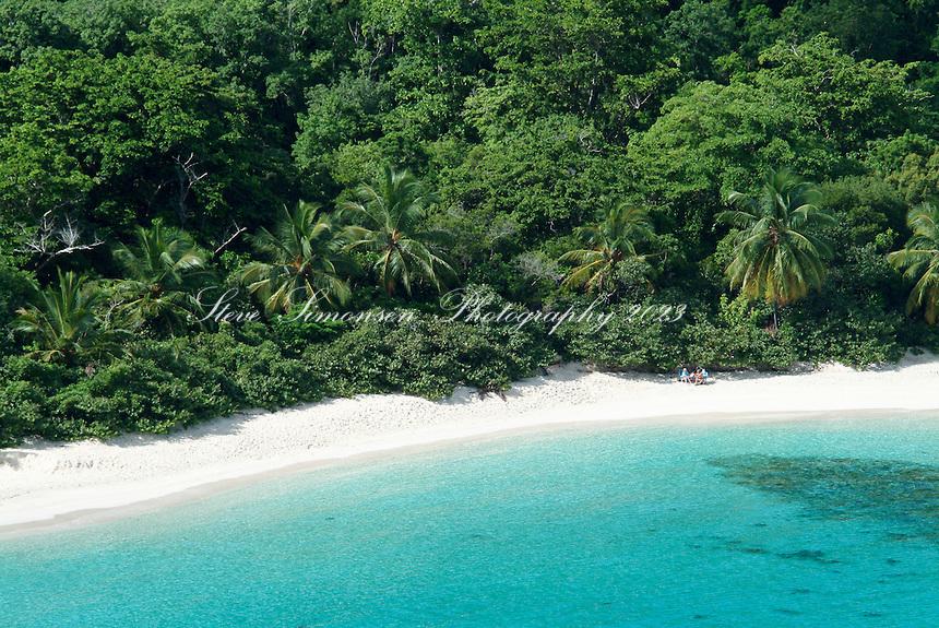 Hawksnest Beach.Virgin Islands National Park.St John, US Virgin Islands