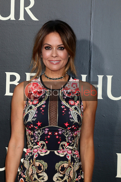 Brooke Burke-Charvet<br /> at the &quot;Ben-Hur&quot; Premiere, TCL Chinese Theater IMAX. Hollywood, CA 08-16-16<br /> David Edwards/DailyCeleb.com 818-249-4998