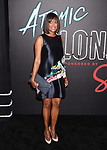 LOS ANGELES, CA - JULY 24:  Actress Aisha Tyler  arrives at the Premiere Of Focus Features' 'Atomic Blonde' at The Theatre at Ace Hotel on July 24, 2017 in Los Angeles, California.